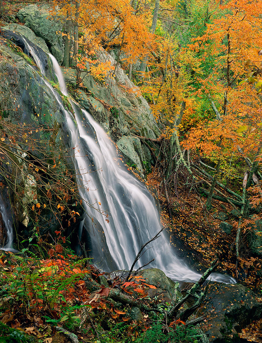 Dark Hollow Falls - Upper Portion