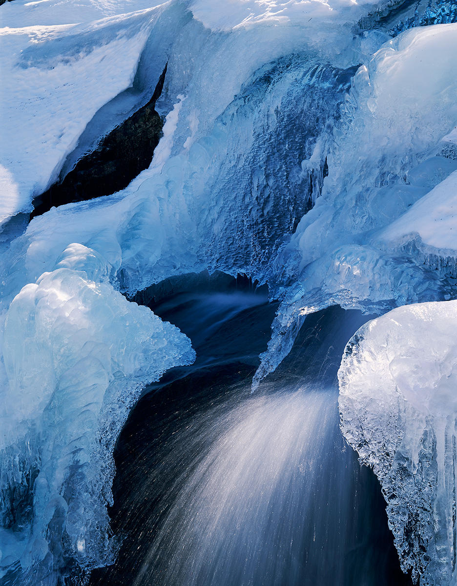 Dark Hollow Falls - Icy Detail