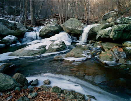 Whiteoak Canyon Falls No. 6 - Downstream